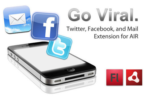 Native Facebook, Twitter, and More for iOS Adobe AIR! « Milkman Games   Everything about Flash   Scoop.it