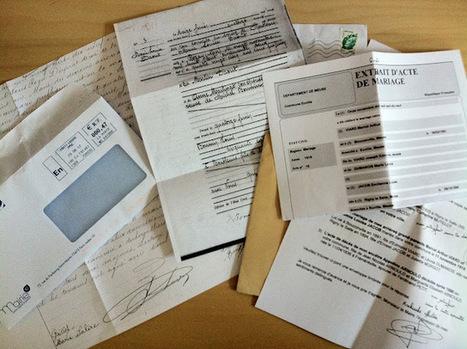MesRacinesFamiliales: Fin des égarrements, reprise des recherches! par courrier... | GenealoNet | Scoop.it