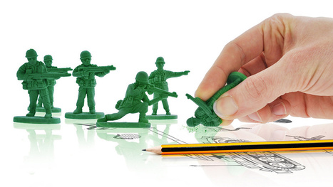 Army Men Erasers Bravely Fight the War On Error | Nerdy Needs | Scoop.it