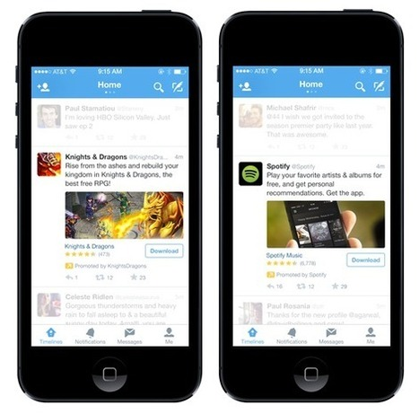 Twitter Introduces Mobile App Install Ads And Integrated Ad-Buying With MoPub | FromWeb2Mobile | Scoop.it