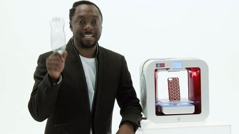 Will.i.am partners with Coca-cola for eco-friendly 3D printer - TechRadar UK | 3D Printing | Scoop.it