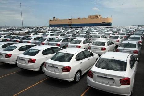 Monthly vehicle export highest in 25 years - The Nation | Thai & Indonesia auto | Scoop.it