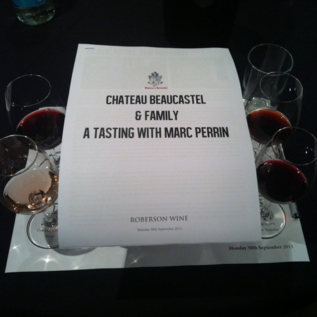 Chateau de Beaucastel & Family: A Tasting with Marc Perrin | Vitabella Wine Daily Gossip | Scoop.it