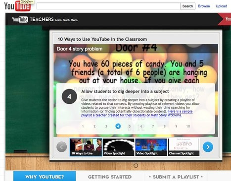 teachers's Channel - YouTube | Video for Learning | Scoop.it