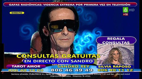 Los ocho videntes que enganchan cada noche a más pardillos en las teles españolas :: Periodismo :: TV :: Periodista Digital | Pseudociencias, bulos y mitos | Scoop.it