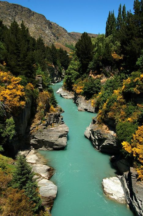The Shotover River | Travel - Places, Destinations, Vacations | Scoop.it
