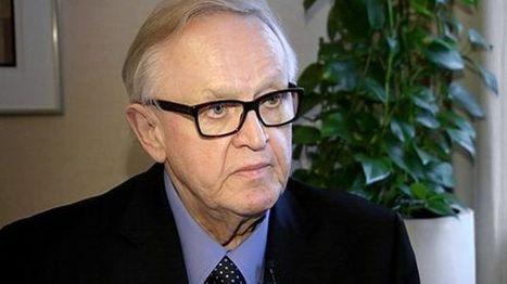 Ahtisaari: Syyrian rauhan taakse tarvittaisiin alueen suuret valtiot   Syyria   Scoop.it