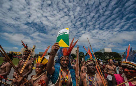 Brésil : Manifestation de masse des Indiens contre l'offensive sur leurs droits territoriaux | Survival International | Kiosque du monde : Amériques | Scoop.it