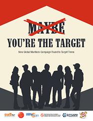You're the Target: New Marlboro Campaign - TobaccoFreeKids.org International Edition | AQAGeog1 Health Issues | Scoop.it