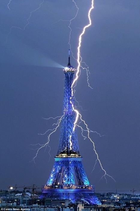12 Awe-Inspiring Photos of Lightning - My Modern Metropolis | France Project | Scoop.it