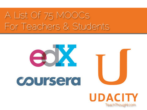 A List Of 75 MOOCs For Teachers & Students | E-learning kutxatila | Scoop.it