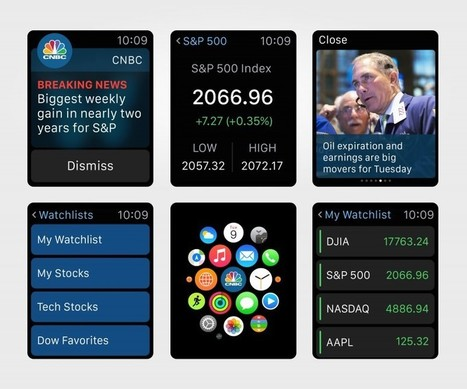 Apple Watch News Apps Bring At-a-Glance Headlines to Your Wrist | iPhones and iThings | Scoop.it