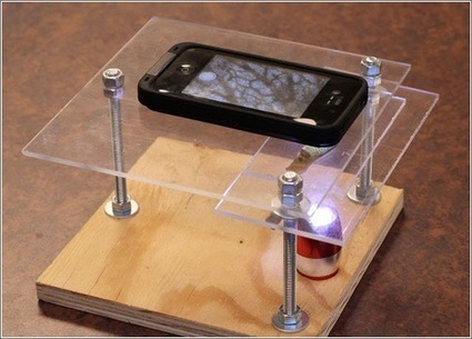 Cómo convertir el móvil en un microscopio con algo de pretecnología | Microsiervos (Gadgets) | Como...? | Scoop.it