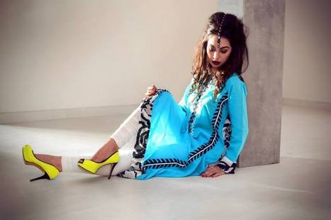 Celestial Eid Collection 2013 For Women By Inaaya | stylostyle | Scoop.it