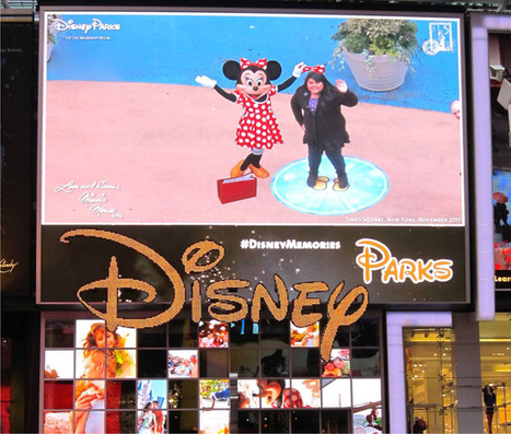 Disney Characters Make Virtual Memories in Times Square | Transmedia: Storytelling for the Digital Age | Scoop.it