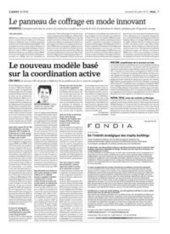 Le panneau de coffrage en mode innovant - L'AGEFI (Abonnement)   Innovation bois   Scoop.it