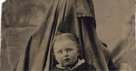 Victorian parents hiding in pictures to keep their babies still long enough for a portrait [20 pics] | Photography | Scoop.it