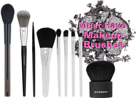 Must-Have Makeup Brushes Every Woman Needs | Best of the Los Angeles Fashion | Scoop.it