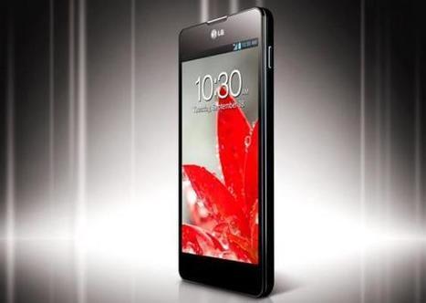 Llega el LG Optimus G al mercado de los smartphones en Colombia - LaTarde.com | Smartphones | Scoop.it
