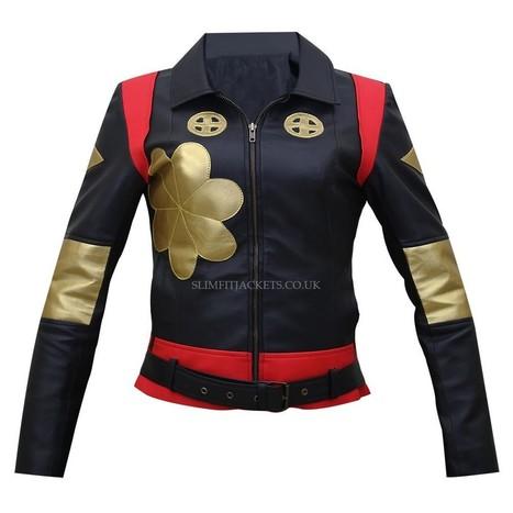 Tatsu Yamashiro Suicide Squad Katana Black Jacket | Leather Jackets | Scoop.it