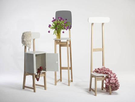 Evolutive chair / The Triplets by Steffen Schellenberger | Du mobilier, ou le cahier des tendances détonantes | Scoop.it