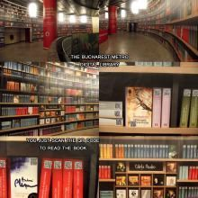 Digital Library at Bucharest Metro Station - QR codes | Documentalista o Content Curator, purchè X.0 | Scoop.it