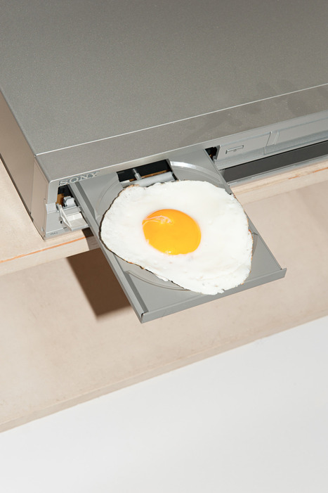 Just recycling!<br/>Egg Player,&nbsp;2013 | @FoodMeditations Time | Scoop.it