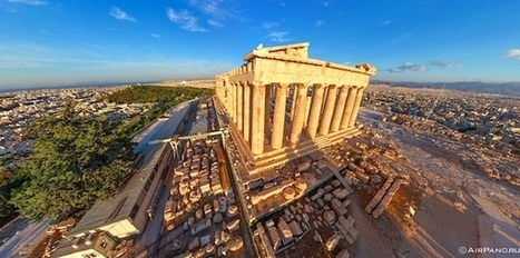 The Parthenon Like You 've Never Seen it Before! | Histoire, Géographie, Education Civique au collège | Scoop.it