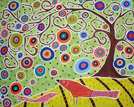 Birds & Tree | craftscat | Scoop.it