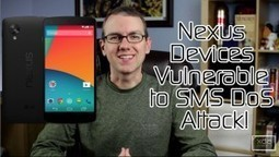 Android 4.4 Released for HTC One Dev & Unlocked Models, Nexus Devices Vulnerable to SMS DoS Attack! – XDA Developer TV | Android Discussions | Scoop.it