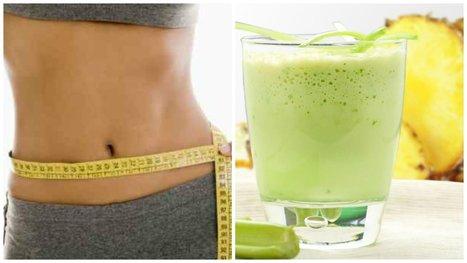 Elimina grasa, desinflama el vientre y limpia el colon con este batido natural - Mejor con Salud | Salud y Deporte | Scoop.it