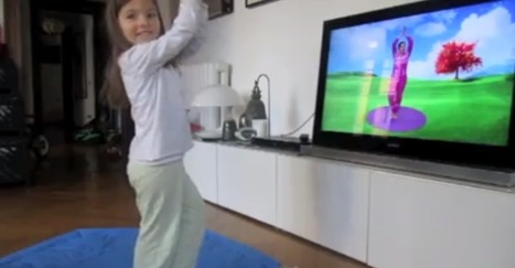Juliet doing Cosmic Kids Yoga at home | Cosmic Kids Around The World! | Scoop.it