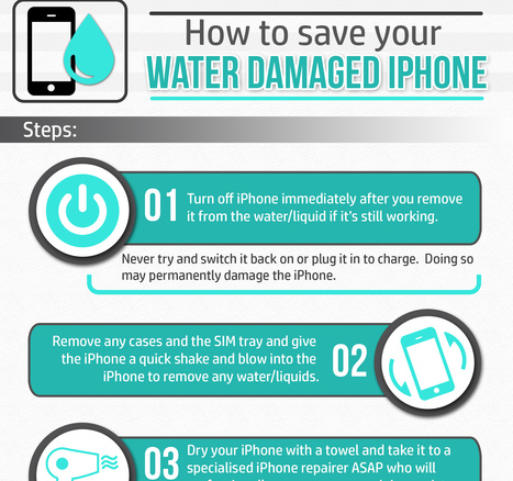 Water Damaged iPhone : Best 5 Steps to Save your iPhone | iPhone Related  News, Reviews & Gossip. | Scoop.it
