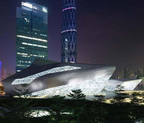 Harmony at the Guangzhou Opera House by Zaha Hadid | WebUrbanist #architecture | Architecture and Photography | Scoop.it