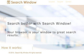 Retirer Search My Window(Guide de suppression), Comment faire pour supprimer Search My Window | Sécuriser Votre PC | guide de suppression des logiciels espions | Scoop.it