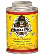 Original Gorilla Clear Primaglue | GorillaPVC | Gorilla PVC Pipe Glue & Cement | Scoop.it