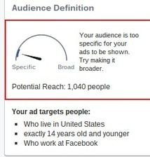 ADS - Facebook uses gauges to help advertisers with targeting | Fundraising technology | Scoop.it