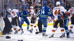 Canucks-Flames brawl leads to phony talk - Sportsnet.ca | Hockey | Scoop.it