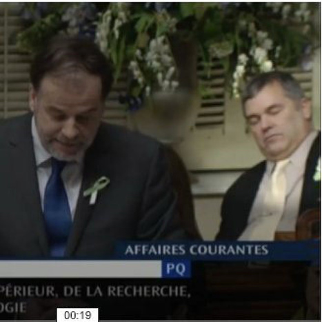 Politician caught sleeping in Quebec legislature says he may have sleep apnea - Toronto Star | Local Classified ads website re-modeling themselves in Québec city | Scoop.it