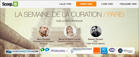 Scoopit à Paris ! La semaine de la curation de contenu | La Curation, avenir du web ? | Scoop.it