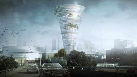 Proposal unveiled for tornado-shaped skyscraper in Tulsa | sustainable architecture | Scoop.it