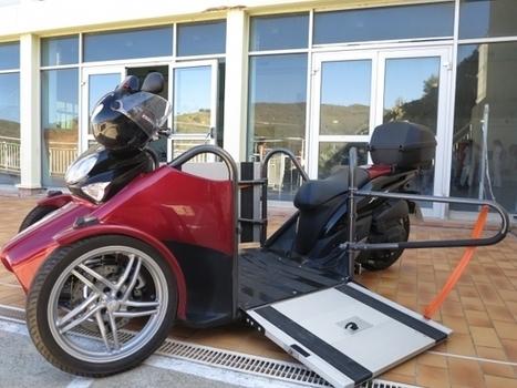 Un scooter révolutionnaire pour personne handicapée créé dans les Pyrénées-Orientales | La technologie au service de la santé et du handicap | Scoop.it