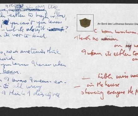 Des paroles manuscrites des Beatles léguées à la British Library   Livres & lecture   Scoop.it