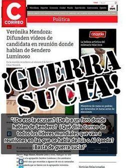 Verónika Mendoza DENUNCIARÁ a Correo por publicación que la vincula a Sendero Luminoso | MAZAMORRA en morada | Scoop.it