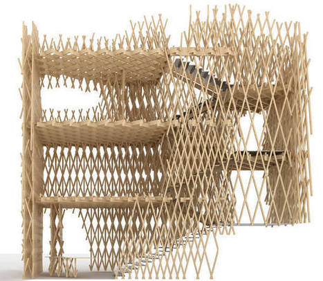 Bamboo basket: Shop by Kengo Kuma | The Architecture of the City | Scoop.it