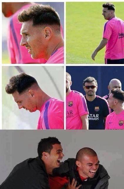 Paso.es   El contenido mas viral de internet   Imagenes y vídeos graciosos  - El Nuevo Peinado De Messi   Xmodels   Scoop.it