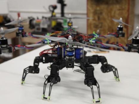Hexapod Hexacopter | Robohub | Scoop.it