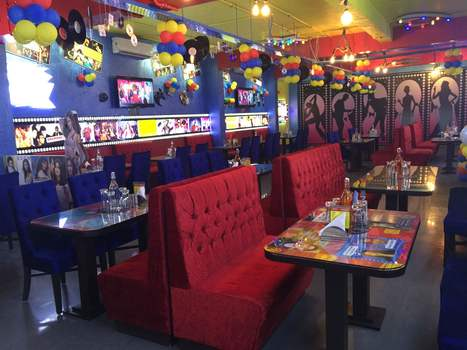 Filmy Flavours – A Bollywood Themed Restaurant, Noida | Interior Designing Services | Scoop.it