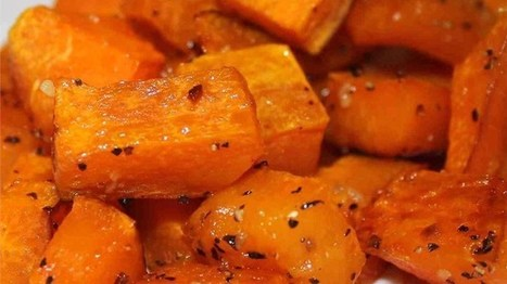 Simple Roasted Butternut Squash Recipe | I love to cook | Scoop.it