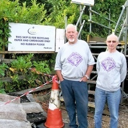 "UK NEWS: ""Asbestos' dumped at scout hut besieged by vandals"" 